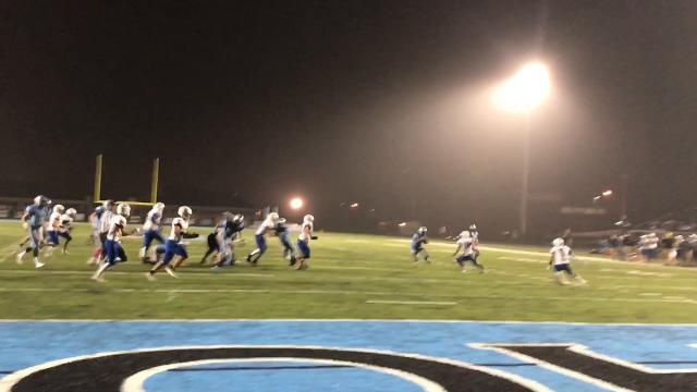 See highlights from Lansing Catholic's 33-18 homecoming win over Ionia. Brian Calloway / LSJ
