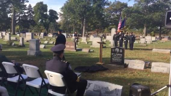 Port Huron police honor the only officer in the history of the department to die in the line of duty.