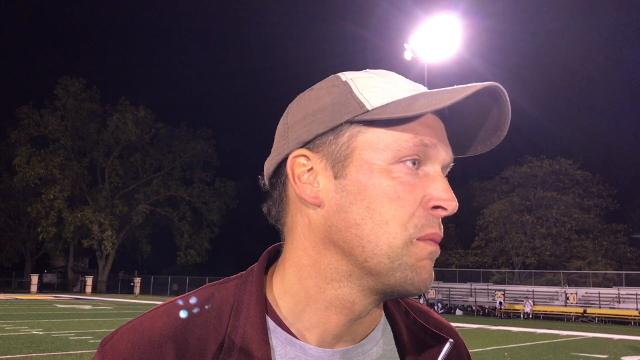 Hear comments from Okemos coach Brian Guggemos following the Chiefs' 3-1 win over East Lansing in the CAAC Gold Cup final on Tuesday, Oct. 10, 2017. Brian Calloway /LSJ