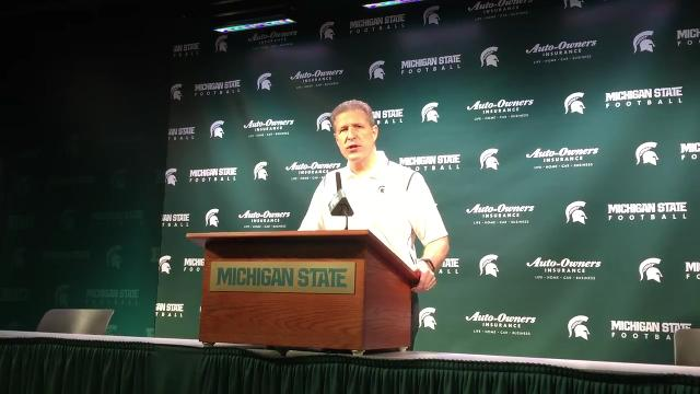 Watch Danton Cole explain his excitement about MSU hockey debut