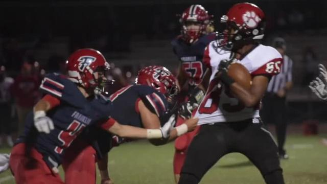 The Patriots make the playoffs as they shut out Grand Blanc, 35-0.