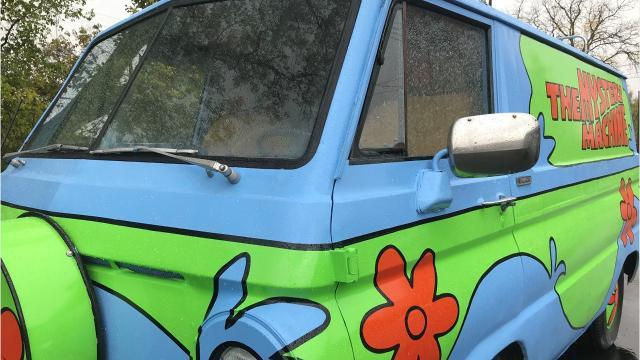 Lansing's Scooby-Doo-inspired Mystery Machine
