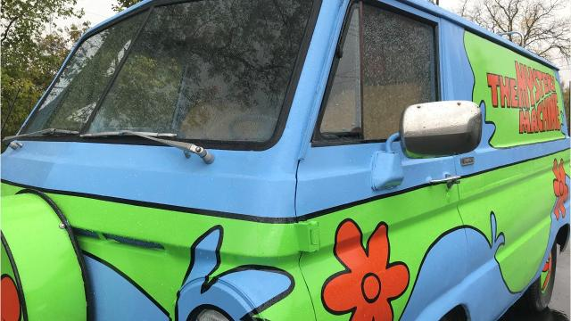 Take a look at Aaron Aikman and Jerry Jodloski's recreation of the Mystery Inc. gang's classic ride - the Mystery Machine.