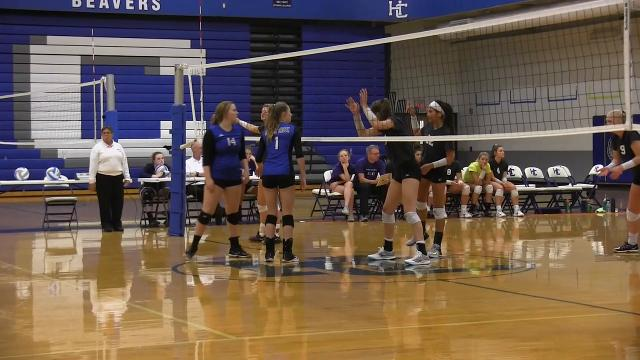 Lakeview defeats Harper Creek in finals of All-City volleyball tournament for back-to-back titles