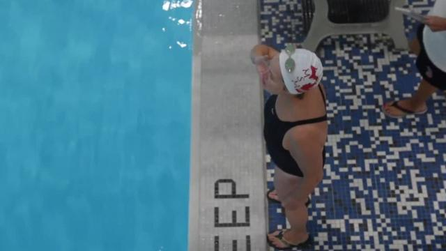 Michigan Synchro Masters train 3 nights a week for national competition, mostly while holding their breath.