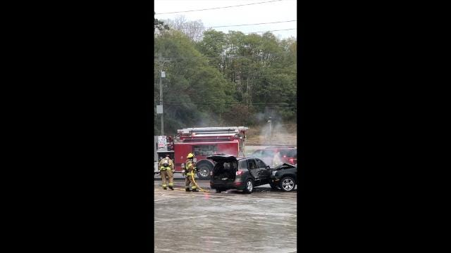 Raw footage of an accident on Old U.S. 23 that injured at least one individual.