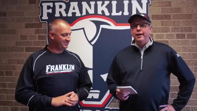 The Franklin head coach, Chris Kelbert will lead his Patriots in a battle against his alma mater.