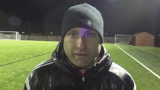 Brighton soccer coach Mark Howell talks about the growth of his team, which had an 0-3-2 stretch before winning five straight games and a district title. Portage Central eliminated Brighton, 1-0 in overtime, in the regional semifinals.