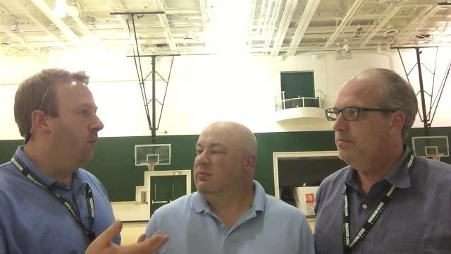 Lansing State Journal columnist Graham Couch, Detroit Free Press beat writer Chris Solari and Free Press columnist Shawn Windsor analyze the Spartans' exhibition opener, an 80-72 win over Ferris State on Thursday, Oct. 26, 2017.