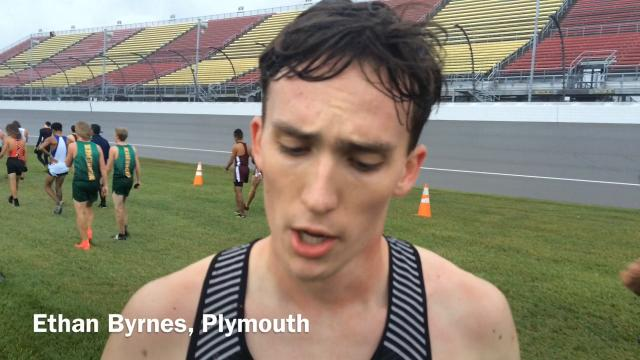 Highlights and interviews from the Plymouth boys cross country, which was four points shy of claiming its first state championship in school history.