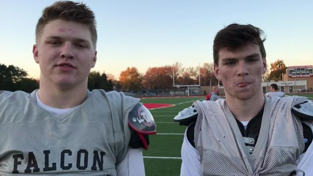 Divine Child's Hutchinson and Day talk about Big Ten futures