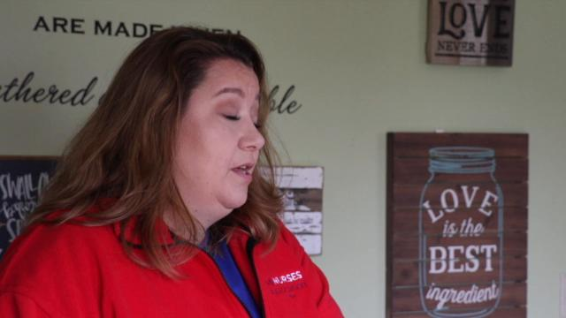 Labor and delivery nurse Jessica Lannon talks about past medical debt, and the anonymous donations that helped her through troubled times.
