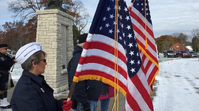 Ceremony at Allied Veterans Cemetery honors sacrifices of many