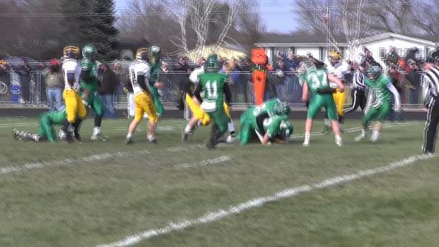 No. 3 Mendon vs. No. 9 Climax-Scotts football playoff