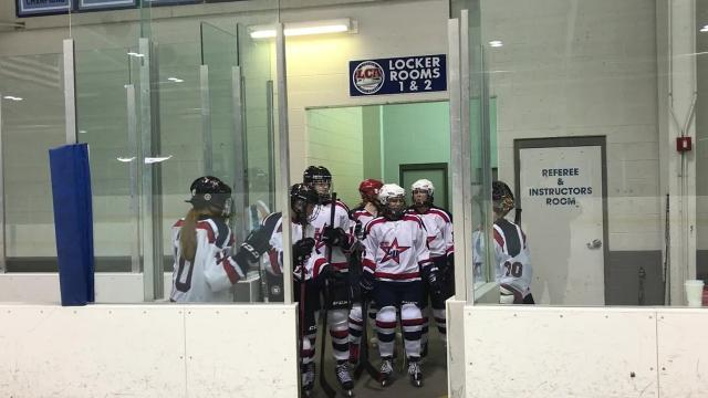 Livonia United's first league game in history took place Nov. 13 at Eddie Edgar Arena against Grosse Pointe Woods University Liggett. The Knights won 5-1.