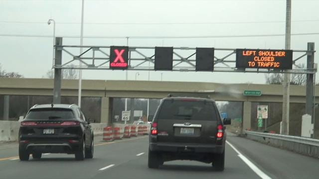 Wednesday, Nov. 15, MDOT opened the new Flex Route lane, adding an extra lane of traffic on U.S. 23 during rush hour.