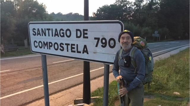 David Larwa hiked nearly 500 miles in 30 days in the Camino Frances, making friends around the world in a search of self-discovery.