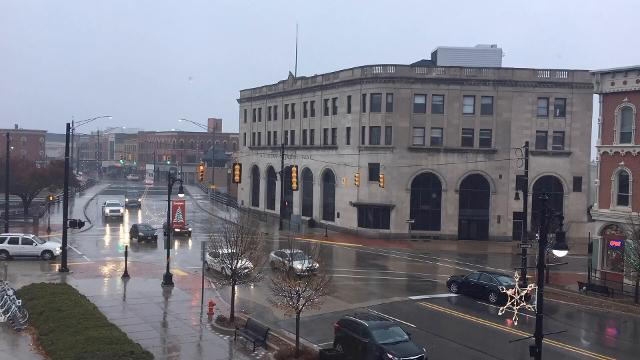 Time Lapse: Rainy Day in Port Huron