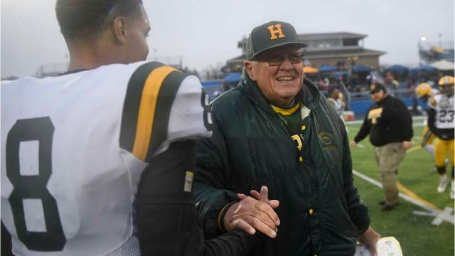 The storied career of coach John Herrington continues as his team will play for another state title on Nov. 25 at Ford Field. Herrington will be going for his unprecedented 14th state title. His 436 career victories is the most of any high school football coach in Michigan.