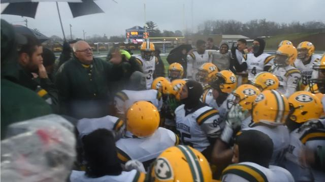"""""""This is going to be the greatest week of your life,"""" said Farmington Harrison coach John Herrington to his team after defeating Riverview 21-0. Harrison will play Muskegon for the Div. 3 title 7:30 p.m. Saturday, Nov. 25 at Ford Field."""