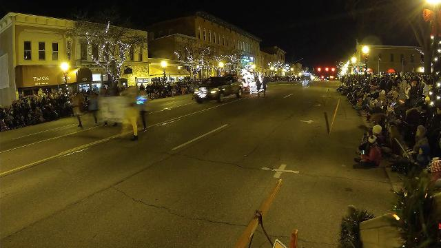 The complete Howell Fantasy of Lights Parade is sped up in timelapse video to show the whole event in under two minutes.