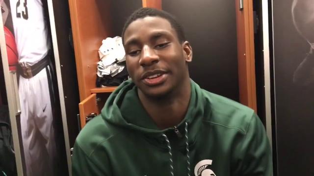 Michigan State handled Notre Dame in a battle of top-5 teams, 81-63, in the Big Ten/ACC Challenge on Thursday, Nov. 30, 2017, at Breslin Center. Video by Chris Solari/DFP