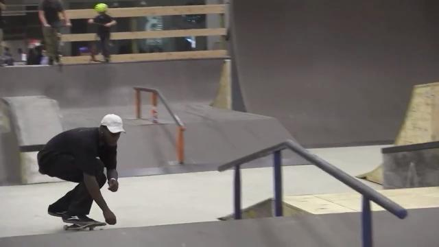 Skate park now open at mall