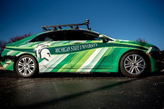 Michigan state researchers aim to keep self driving cars on the road michigan state researchers aim to help self driving cars handle michigan weather solutioingenieria Choice Image