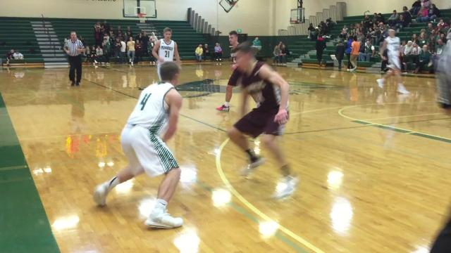 Highlights from the Interstate 8 Conference boys basketball matchup between Parma Western and Pennfield.