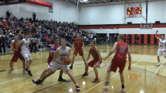 Coldwater at Marshall in Interstate 8 Conference boys basketball