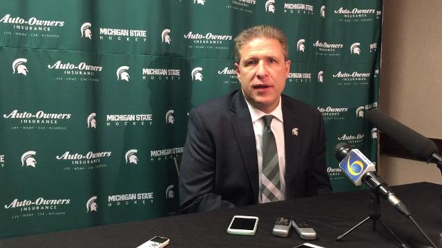 Michigan State hockey coach Danton Cole explains why Friday night's 5-0 win over Michigan just before the Christmas break was so important.