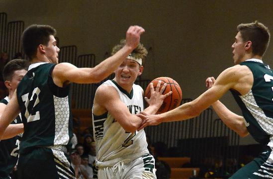 Highlights and interviews from Howell's 58-55 boys' basketball victory over Williamston.