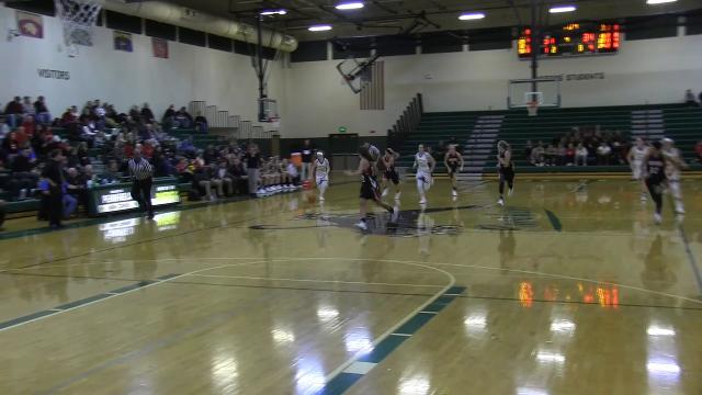 Battle Creek Enquirer highlights of Marshall at Pennfield girls basketball