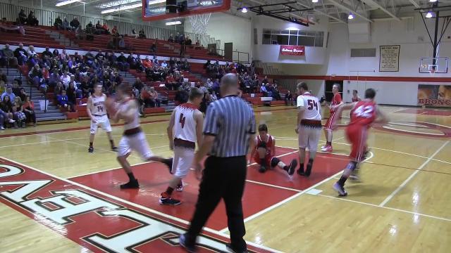 Battle Creek Enquirer highlights of St. Philip at Bellevue boys basketball