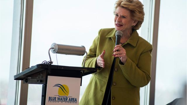 Sen. Debbie Stabenow swung by Port Huron Tuesday to talk at a local chamber luncheon. She covered a big range of topics and mingled with local officials. What do you hope your representatives in Congress focus on in 2018?