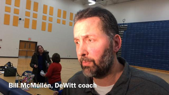 An interview with DeWitt girls hoops coach Bill McMullen, whose team dealt No. 4 Howell its first loss of the season on Wednesday night.