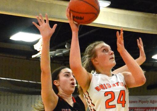 Highlights and interviews from Brighton's 50-21 girls' basketball victory over Pinckney.