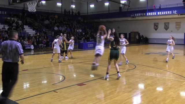Battle Creek Enquirer video highlights of Pennfield at Harper Creek girls basketball