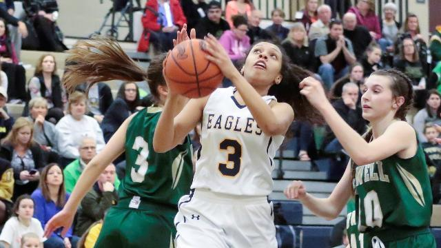 Video preview: Howell at Hartland girls' basketball