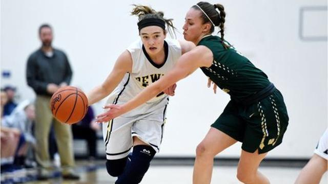The Howell girls basketball team was voted Team of the Month for December 2017.
