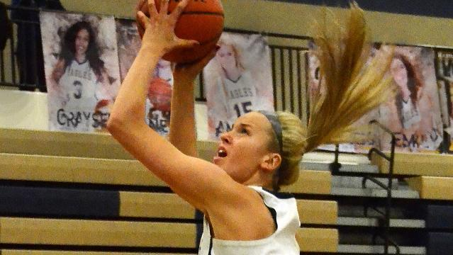 Highlights and interviews from Hartland's 59-15 girls' basketball victory over Livonia Stevenson.