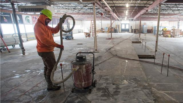 Construction begins for new Port Huron Northern STEAM Lab