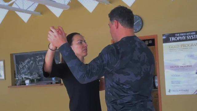 Check out Gabe's dance class with instructor Yuliya Lukina.