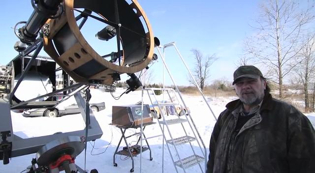 Amateur astronomer Kurt Melvin of Conway Township talks about hearing the meteor explosion and what might be found in the aftermath.