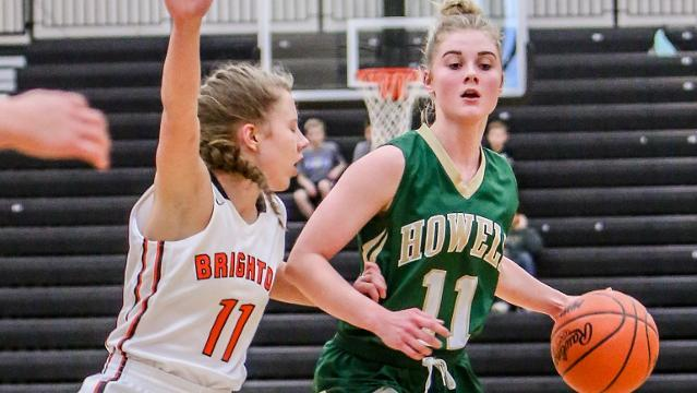 Video preview: 4-OT girls' basketball loss motivating Brighton vs. Howell