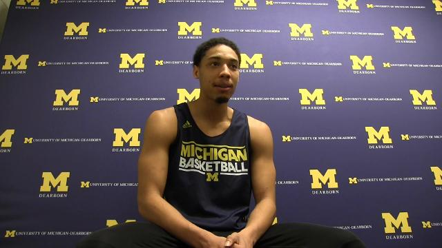 Battle Creek native discusses how he overcame adversity to achieve dream of attending college and playing basketball.