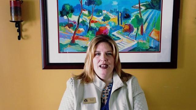 Christine Barnes talks about women's suffrage centennial