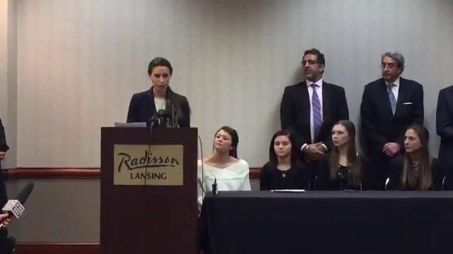 Rachael Denhollander speaks on Joel Ferguson's remarks