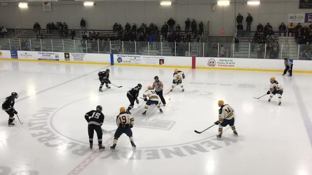 The prestigious MIHL Prep Hockey Showcase at Kennedy Recreation Center in Trenton featured 42 teams, including Plymouth and the host Trojans. Trenton won 2-1 in a shootout.