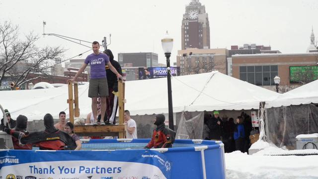 The 14th Annual Polar Plunge for Special Olympics hopes to raise $90,000.